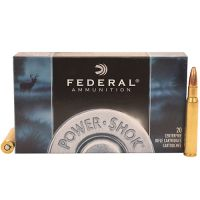 Federal Cartridge 30-06 Spg 150gr SP Power-Shock