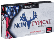 Federal 65CDT1 Non-Typical 6.5 Creedmoor 140 GR Non-Typical Soft Point (SP) 200 rounds