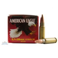 AMERICAN EAGLE 5.7X28MM 40GR FMJ AMMUNITION 500RDS - AE5728A