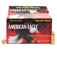 Federal Cartridge 9mm 115gr FMJ 500 Rounds